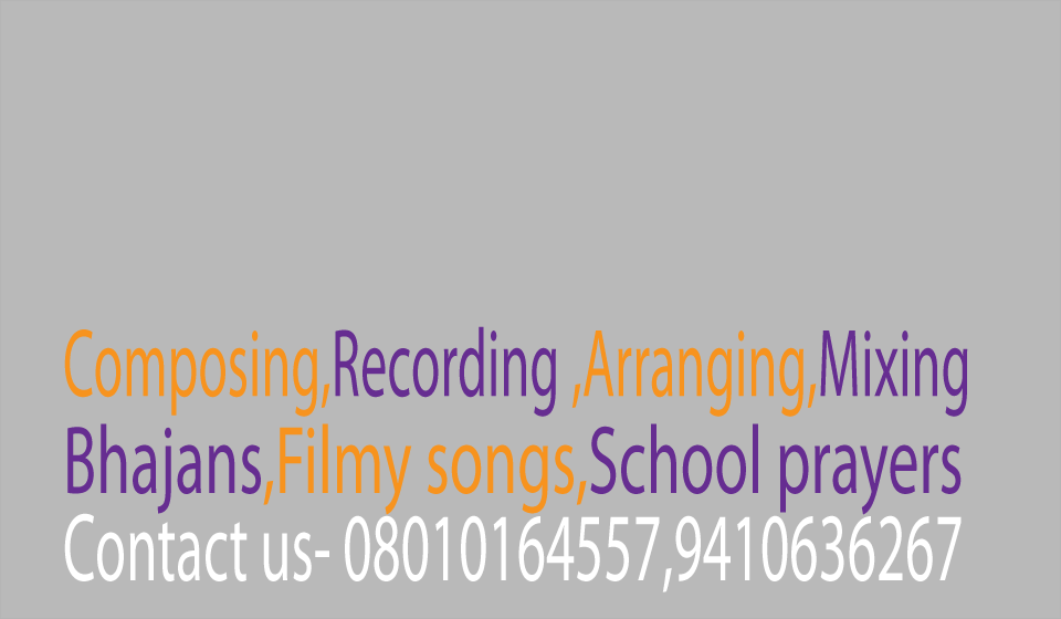 recording ,music,composing in ghaziabad